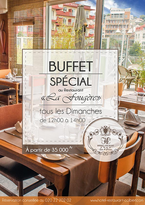 Special the Sunday lunch buffet