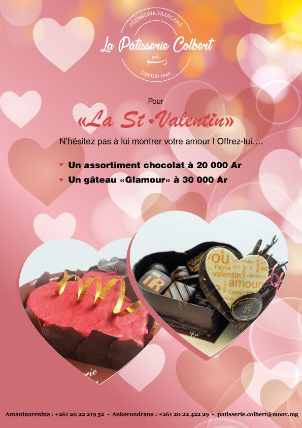 Offrez une pâtisserie pour la Saint-Valentin