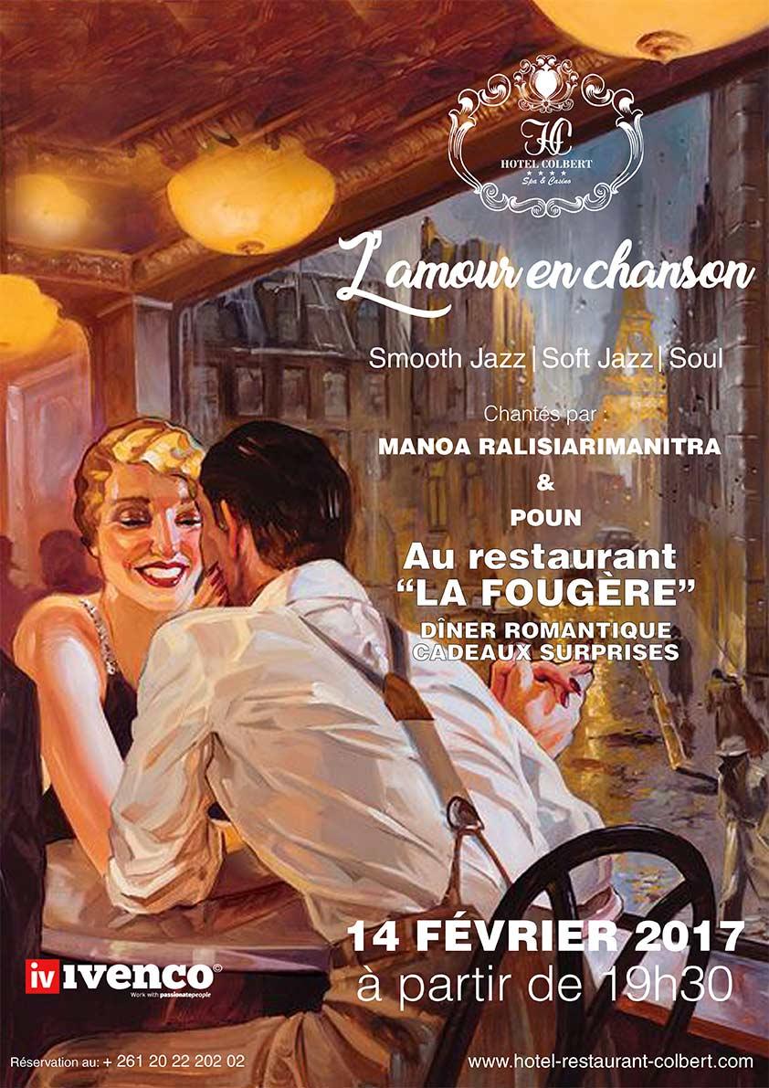 Soirée Saint-Valentin à La Fougère