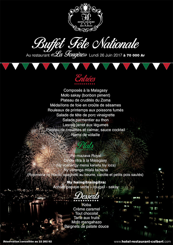 Buffet Fête Nationale