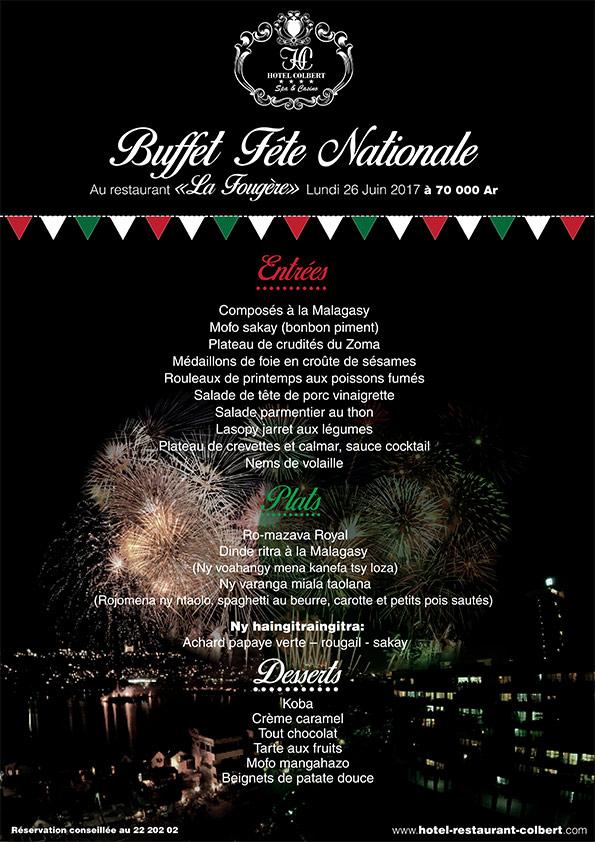 Buffet Fête Nationale